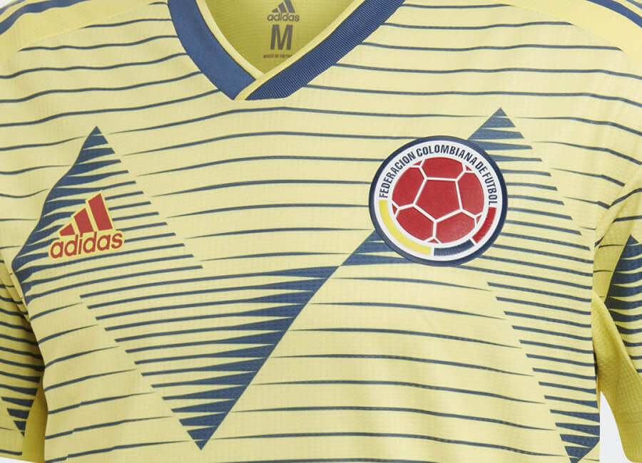 Colombia 2019 Copa América Adidas Home Kit #adidasfootball #adidassoccer #CopaAmerica2019
