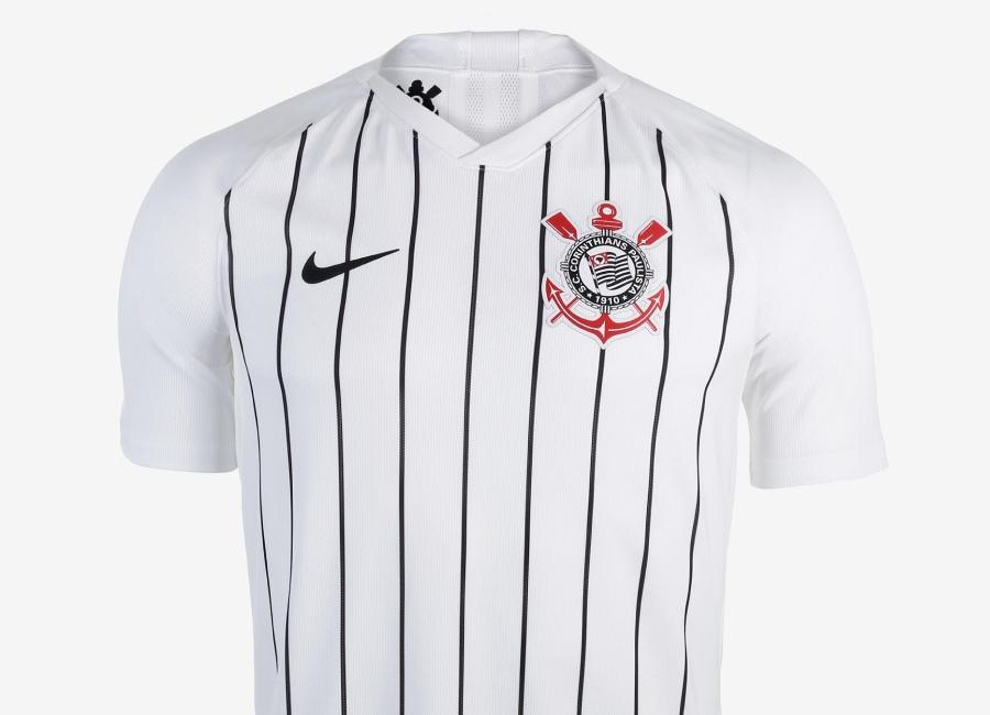 3a717b29cad Corinthians 2019 Nike Home Kit #nikefootball #nikefutebol #VaiCorinthians  #FenômenoDaFiel. Classic Shirts