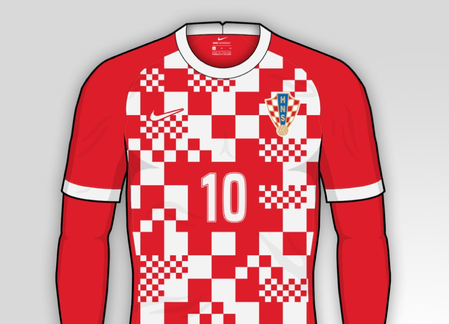 Croatia 2020-21 Home Kit Prediction #Croatia #BudiPonosan #hnscff