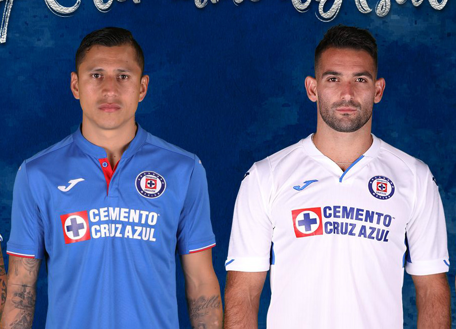 Cruz Azul 2019 Joma Home & Away Kits