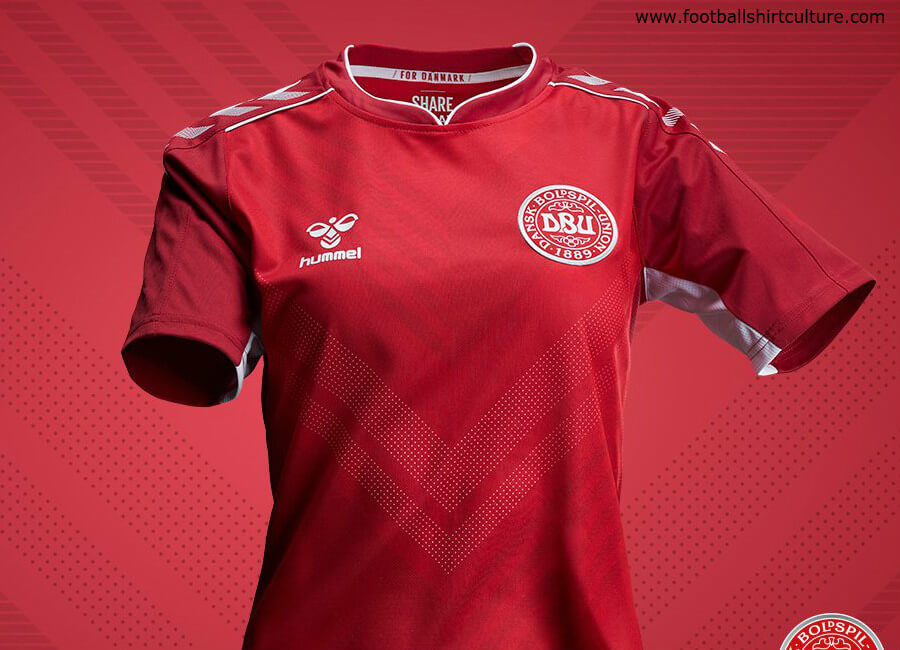 Denmark 2019 Hummel Women's Home Kit #sharethegame #hummelsport #ForDanmark