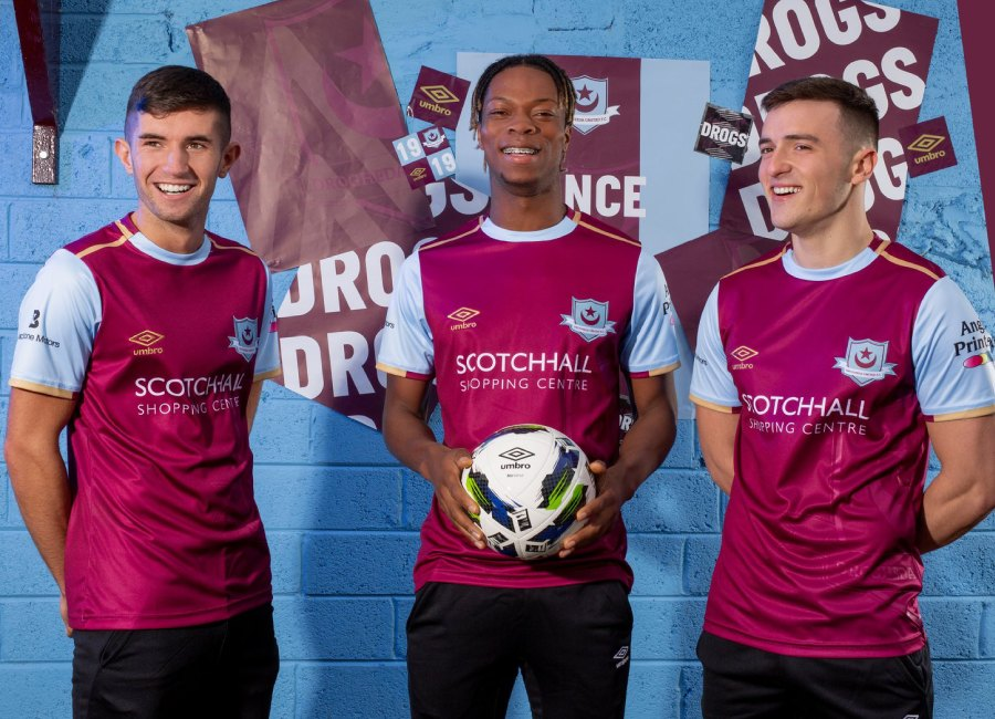 Drogheda United 2020 Umbro Home Kit #DroghedaUnited #BackToUmbro #umbro