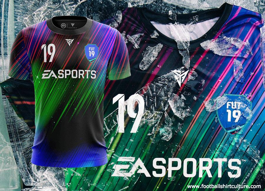 92a6bf249 EA Sports X Fokohaela Northern Lights Shirt  easports  fifa19  fokohaela