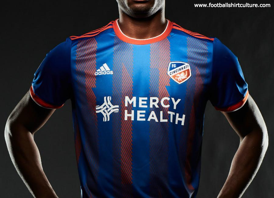 big sale 1e56d 317ac FC Cincinnati 2019 Adidas Home Kit | 18/19 Kits | Football ...