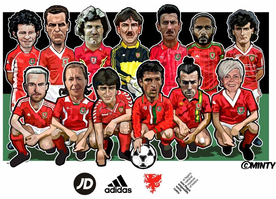 FC Cymru Special - The Art of the Wales Shirt #KitCymru #footballshirt