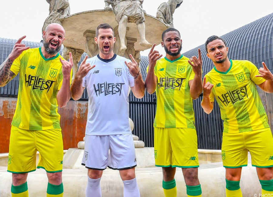 FC Nantes 2019-20 New Balance Coupe de la Ligue Shirt