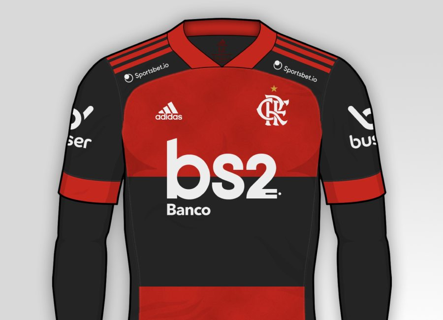 Flamengo 2020-21 Home Kit Prediction #Flamengo #CRFlamengo #CRF