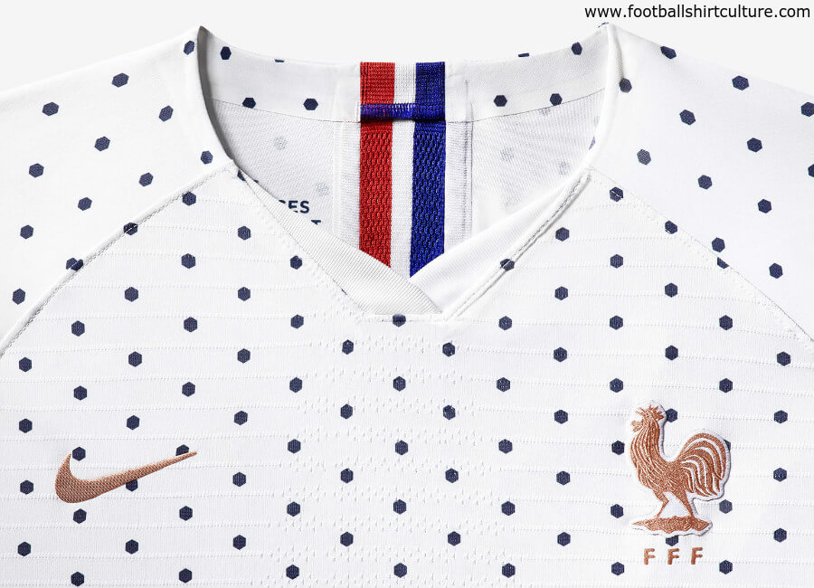 France 2019 Women's World Cup Nike Away Kit #fff #nikefootball #nikesoccer