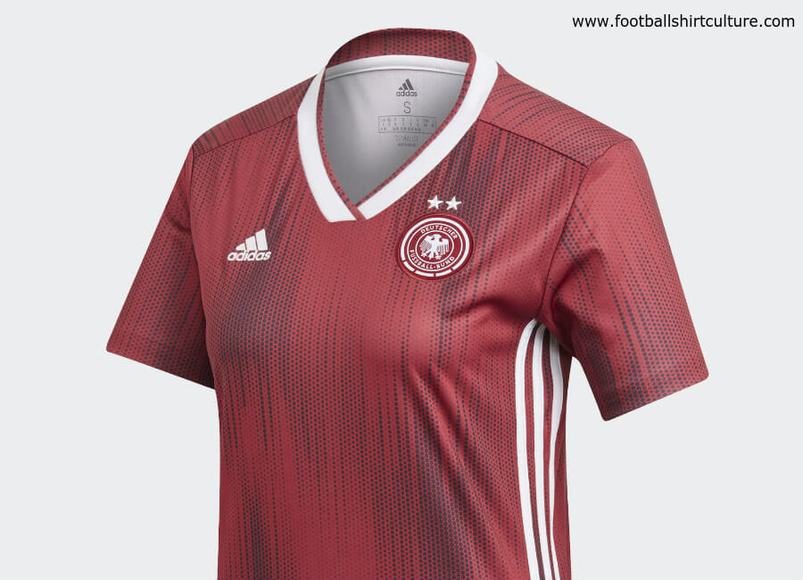 Germany 2019 Women's World Cup Adidas Away Kit #adidasfootball #adidassoccer #footballshirt