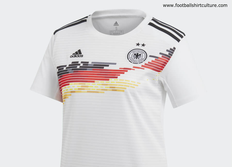 Germany 2019 Women's World Cup Adidas Home Kit #dfb #adidasfootball #adidassoccer #footballshirt