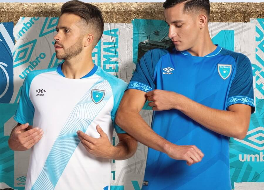 Guatemala 2019 Umbro Home & Away Kits #VamosConFEGuate #VamosGuate #Umbro