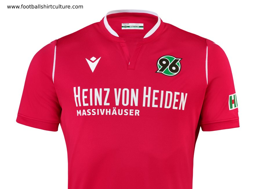 Hannover 96 2019-20 Macron Home Kit #Hannover96 #h96 #NiemalsAllein