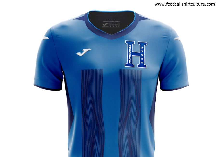 804a06e6c Honduras 2019 Joma Third Shirt  honduras  footballshirt