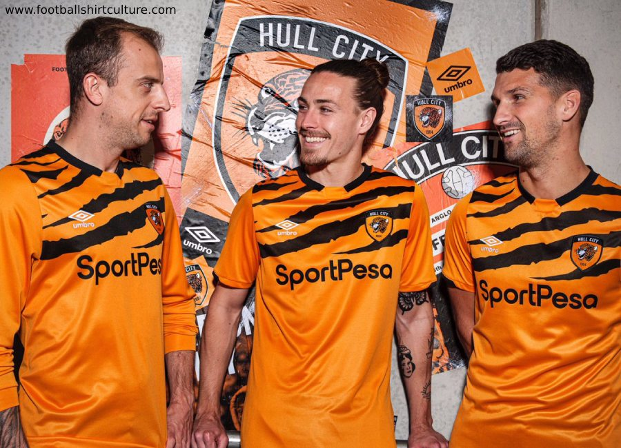 cb0eb409a85 Hull City 2019-20 Umbro Home Kit #HCAFC #HullCity #umbro #TheTigers