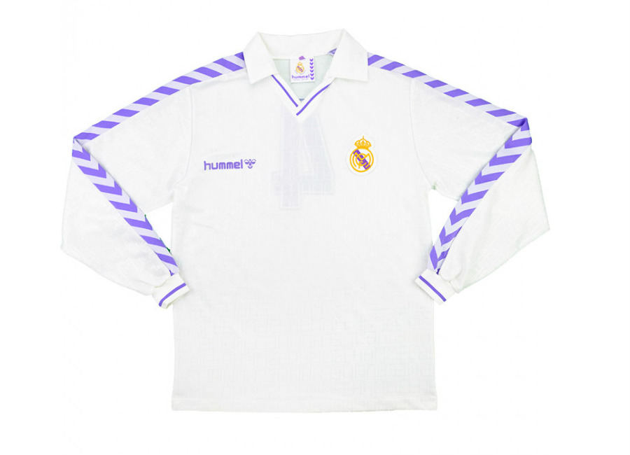 Hummel 1989-90 Real Madrid Match Issue Home Shirt #realmadrid #realmadridcf #rmcf #halamadrid #matchworn