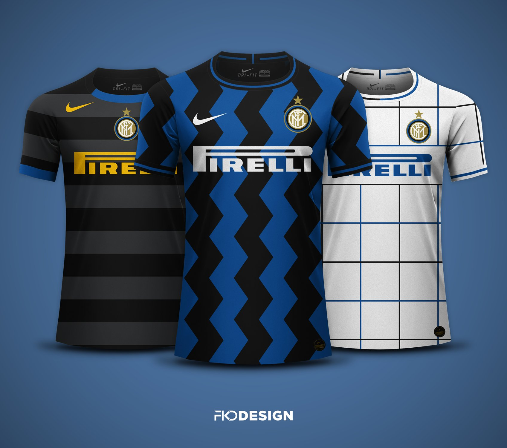 inter 2020 21 home away third kits prediction
