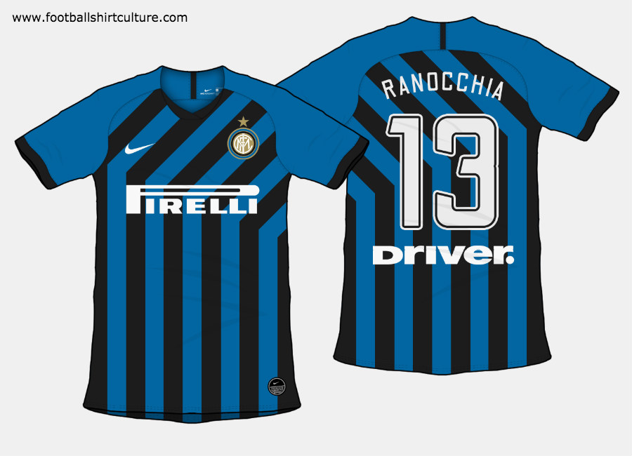 Inter Milan 2019-20 Home Kit Prediction #intermilan #Internazionale #fcinter