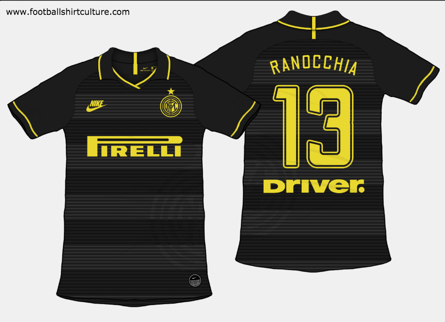 Inter Milan 2019-20 Third Kit Prediction #InterMilan #Internazionale #fcinter