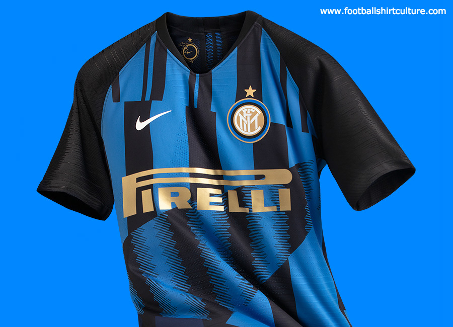 hot sale online 34584 61be6 Inter Milan x Nike 20th Anniversary Mash-Up Jersey | 18/19 ...