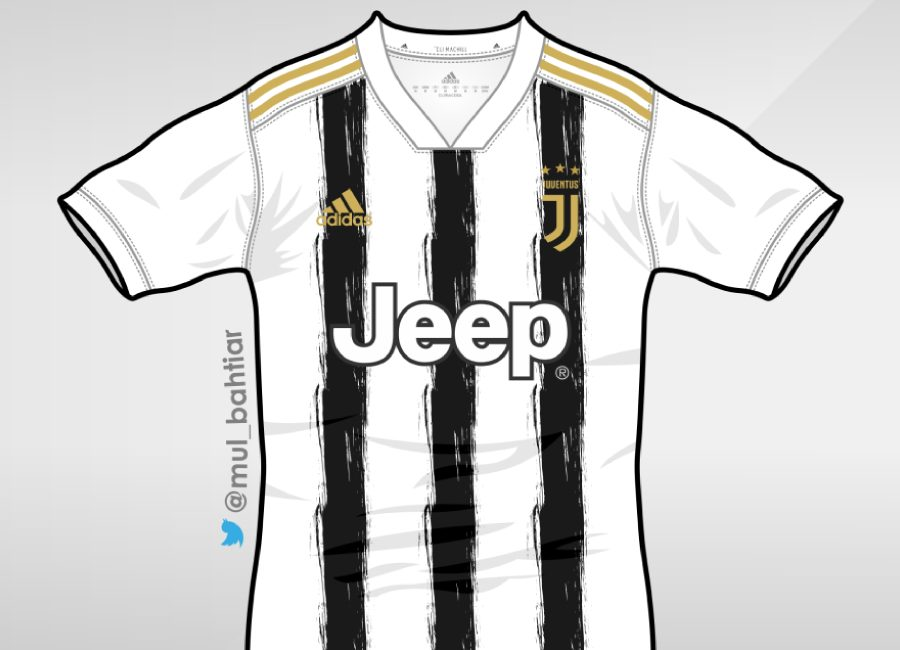 Juventus 2020-21 Home Kit Prediction #juve #juventus #forzajuve