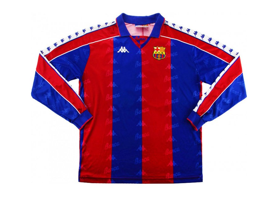 Kappa 1992-95 Barcelona Match Issue Home Shirt #fcbarcelona #barca #matchworn