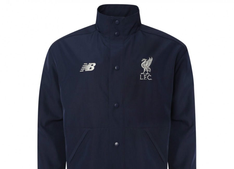 Liverpool 2019 New Balance Sportswear Terrace Jacket - Navy #lfc #liverpoolfc #liverpool