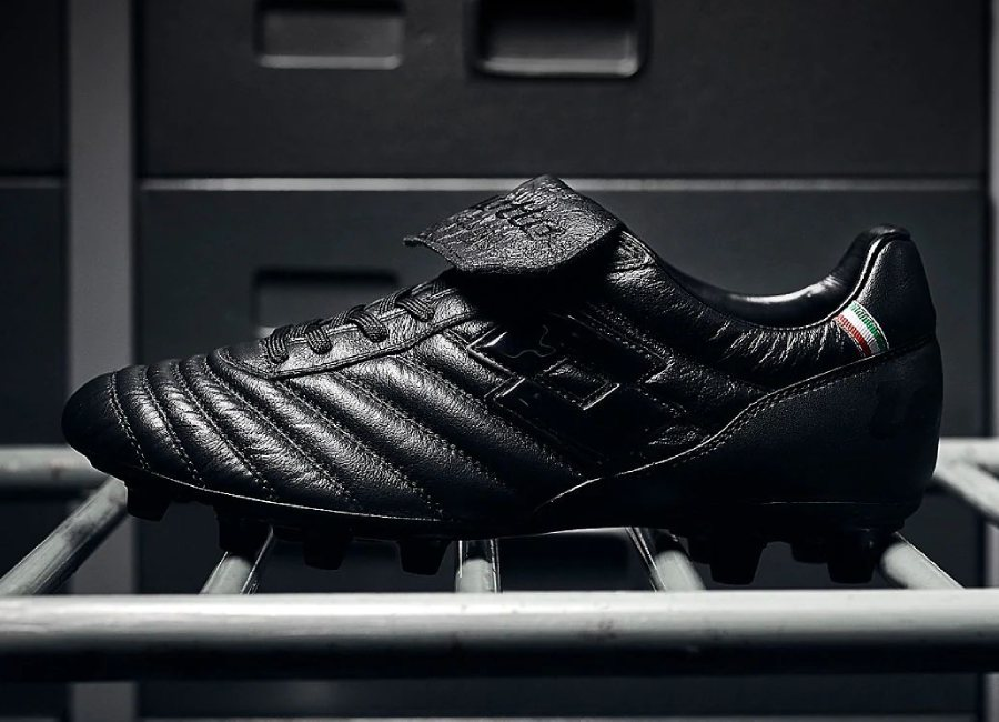 Lotto Stadio Made In Italy FG - Black #lottofootball #footballboots