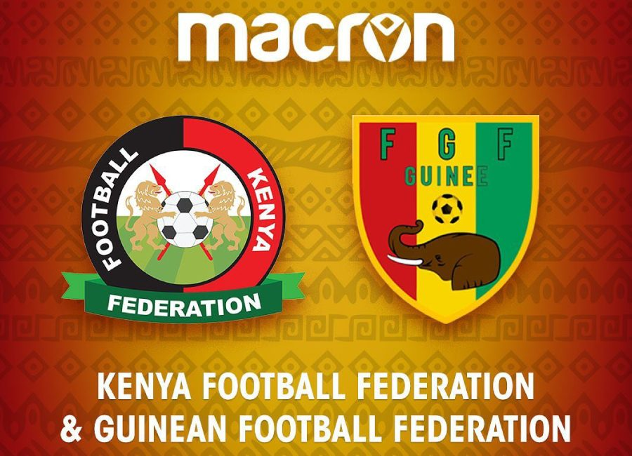 Macron Announce Kenya and Guinea Kit Deals #afcon #afcon2019 #can2019