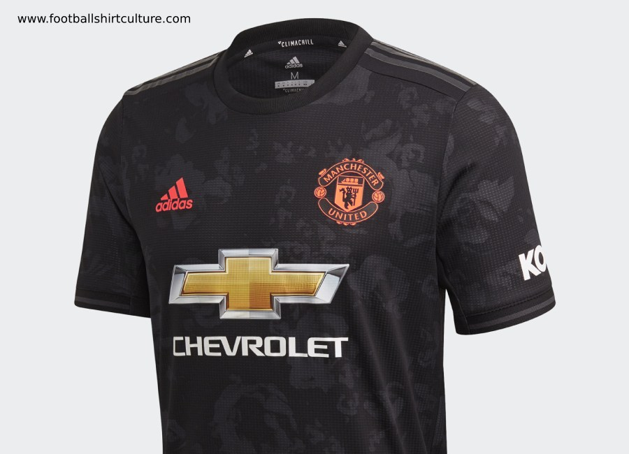 more photos ae86a e7e50 Manchester United 2019-20 Adidas Third Kit | 19/20 Kits ...
