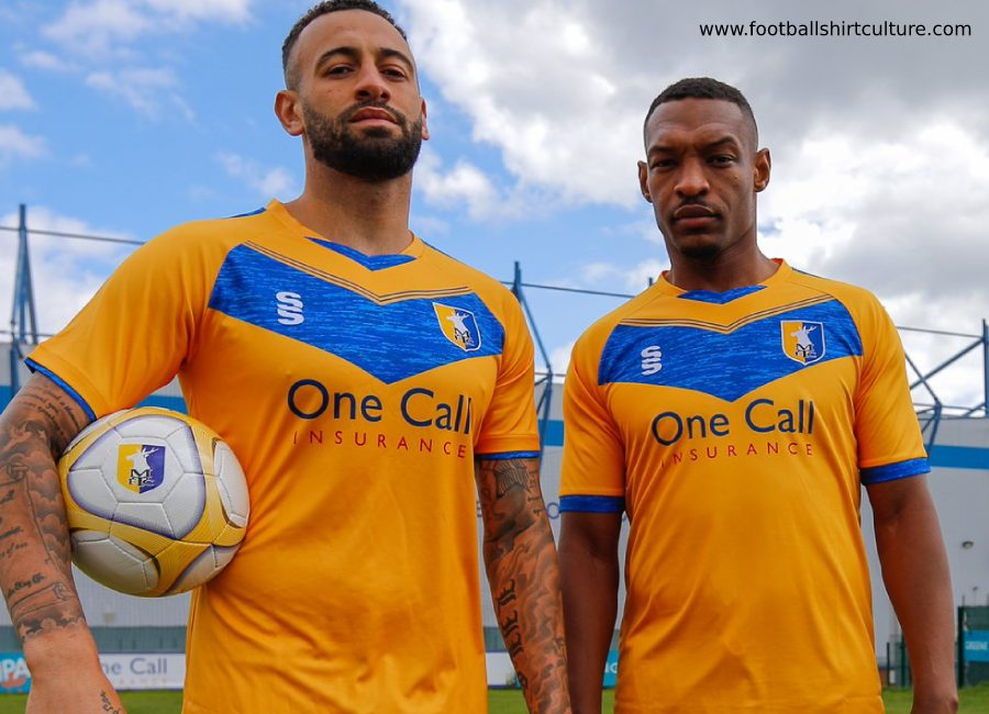Mansfield Town 2019-20 Surridge Home Kit #MansfieldTown #Stags #MansfieldTownFC