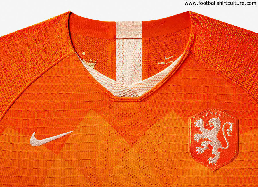 release date 345df 4d99a Netherlands 2019 Women's World Cup Nike Home Kit | 18/19 ...