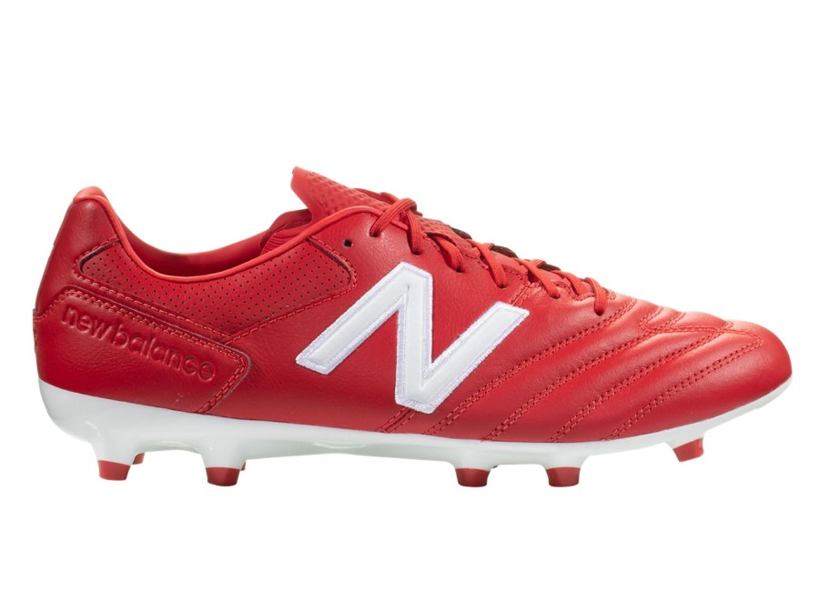 New Balance 442 Pro FG Wear Your Colors - Scarlet / White #nbfootball #footballboots #lfc #soccerboots