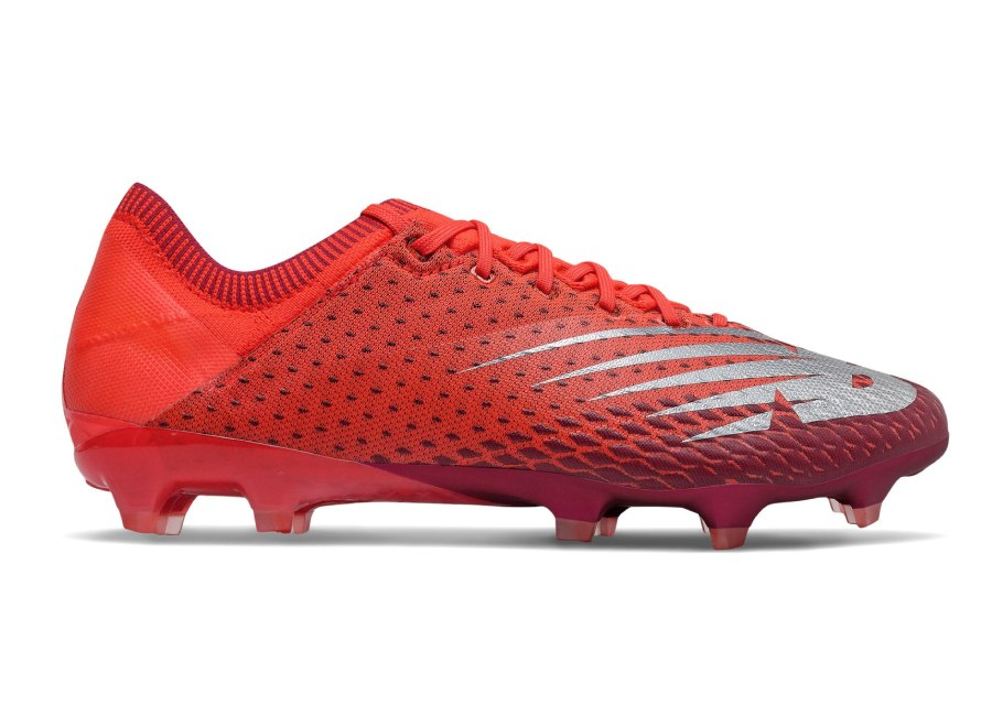 New Balance Furon v6 Pro FG The Next Wave - Neo Flame / Neo Crimson / Garnet #footballboots #nbfootball