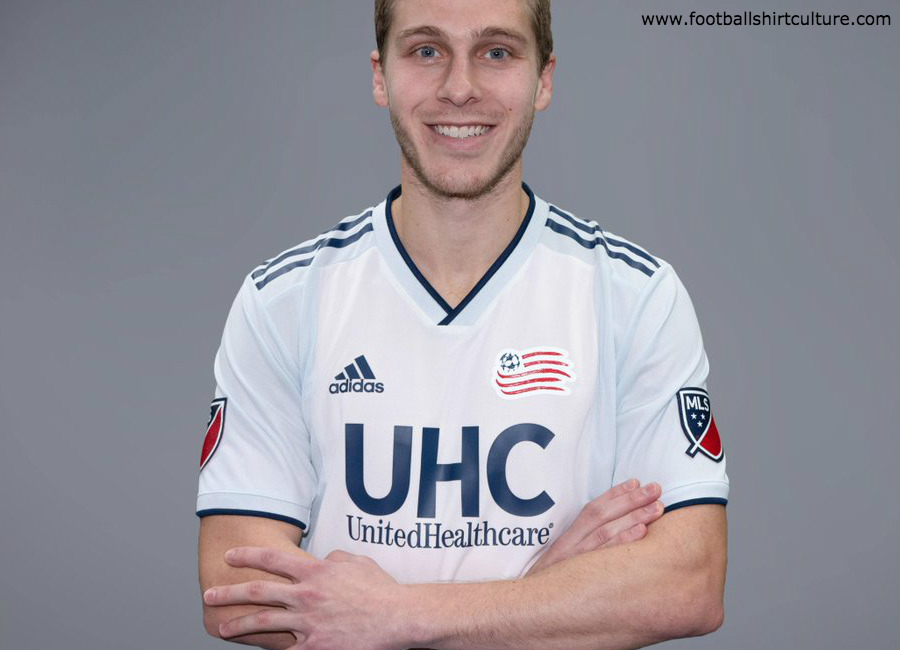 New England Revolution 2019 Adidas Away Kit