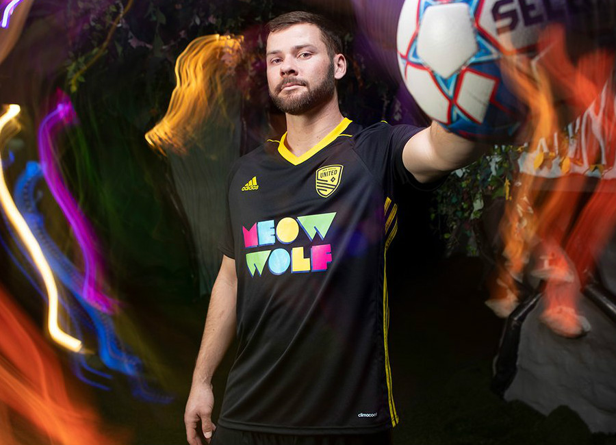 New Mexico United 2019 Adidas Home Kit #NMUnited #SomosUnidos #NewMexicoUnited #MeowWolf #NMUnitedJersey #adidasfootball