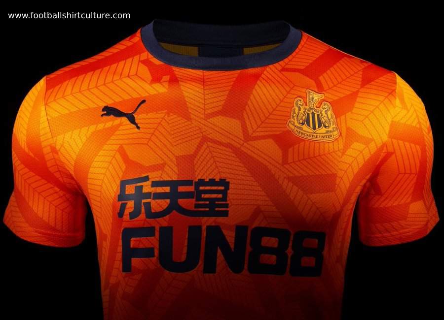 Newcastle United 2019-20 Puma Third Kit #NewcastleUnited #footballshirt #nufc
