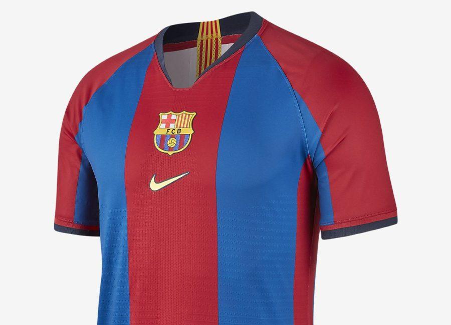 reputable site f831d 18710 FC Barcelona 98/99 Nike Vapor Match Shirt | Retro | Football ...