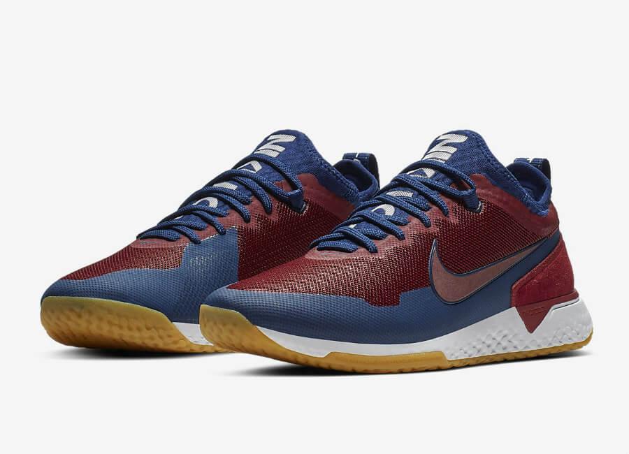 5457d33cf91 Nike F.C. React - Team Red   Blue Void   Gum Light Brown   White