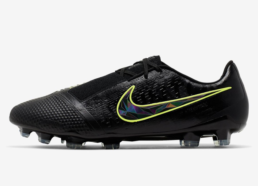 Nike Phantom Venom Elite FG Under The Radar - Black / Volt / Black #nikefootball #nikesoccer