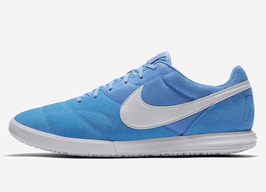 Nike Tiempo Premier II Sala IC - Photo Blue / University Blue / White #futsal #nikefootball