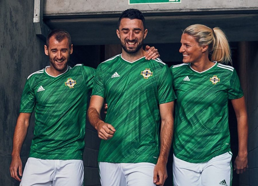Northern Ireland 2020-21 Adidas Home Kit #GAWA #adidasfootball #NorthernIreland #footballshirt