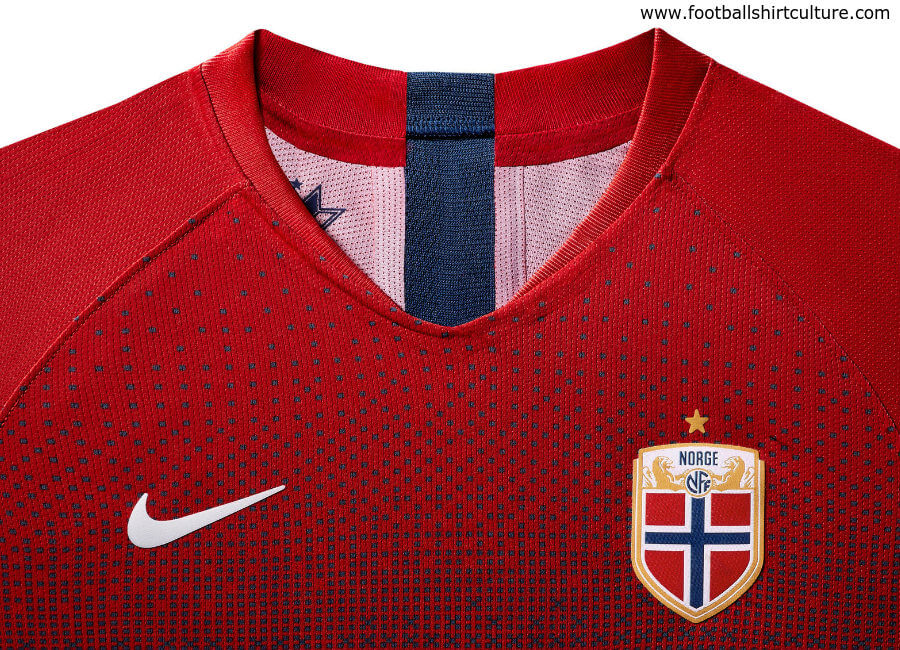 Norway 2019 Women's World Cup Nike Home Kit #nikefootball #nikesoccer #norway