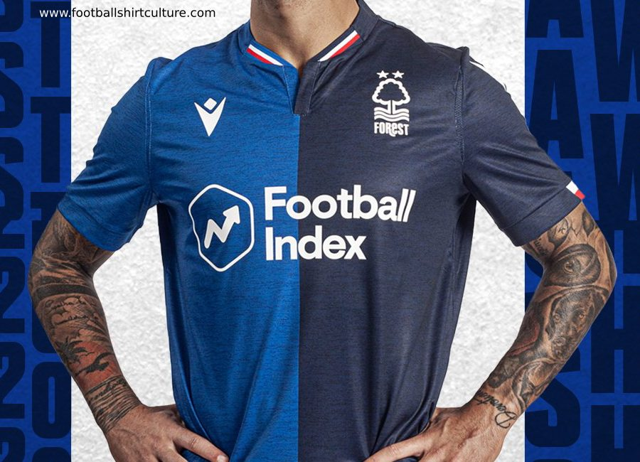 Nottingham Forest 2019-20 Macron Away Kit #NottinghamForest #footballshirt #nffc