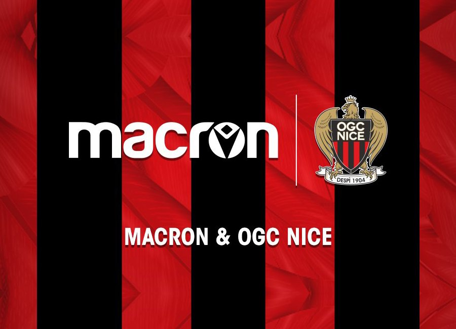 OGC Nice Extends Macron Kit Deal #OGCNice
