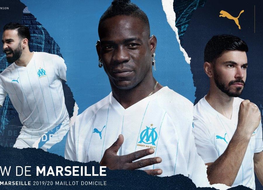 Olympique De Marseille 2019 20 Puma Home Kit 19 20 Kits