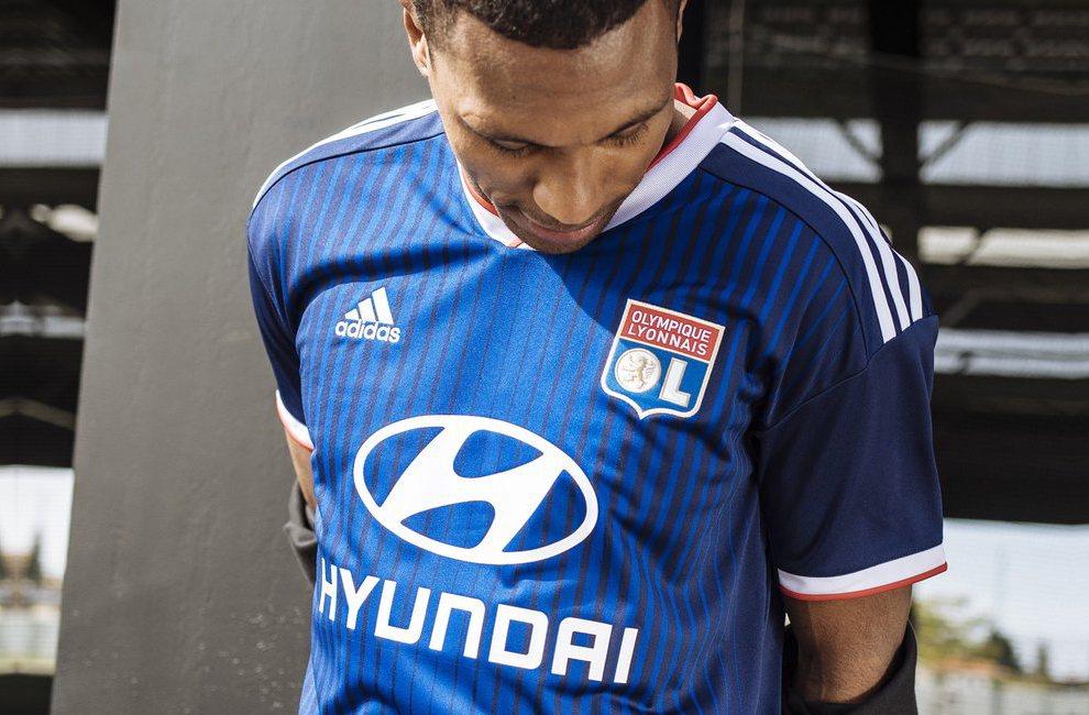 Olympique Lyon 2019-20 Adidas Away Kit | 19/20 Kits | Football ...