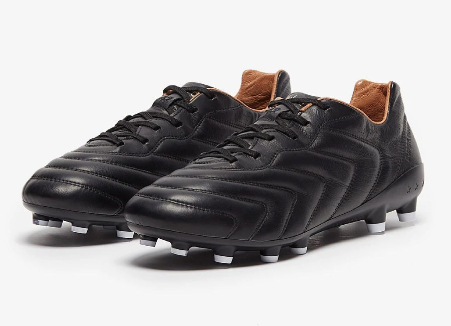 Pantofola Superleggera 2.0 FG - Black / Gold Raven #Pantofola #footballboots