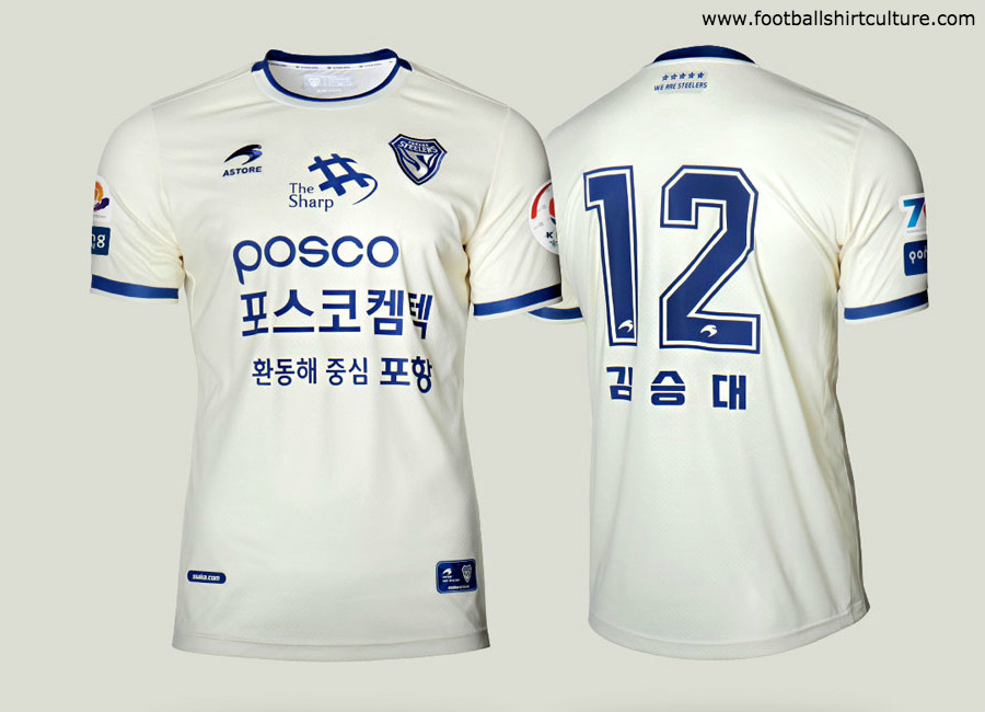 Pohang Steelers 2019 Astore Away Kit #PohangSteelers #kleague