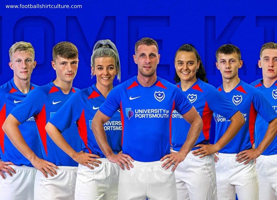 Portsmouth 2019-20 Nike Home Kit | 19/20 Kits | Football shirt blog