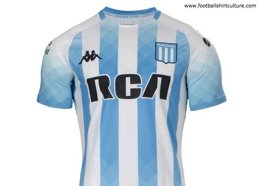 Racing Club 2019 Kappa Home Kit #RacingClub #VamosRacing #RacingPositivo